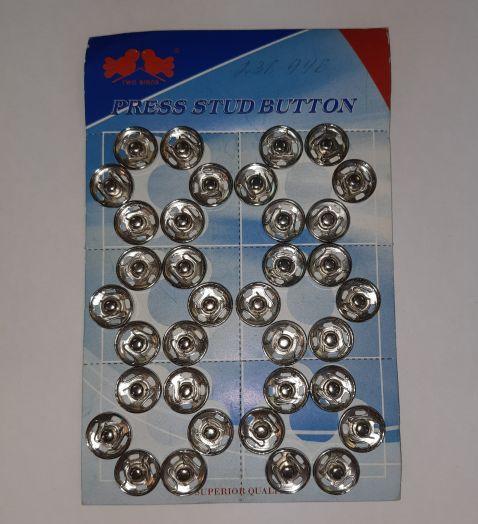 Кнопка пришивная № 2.      Цена 5 руб/шт