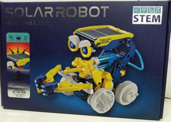 Робот-конструктор на солнечной батарее 11 в 1