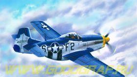 Самолет P-51 Д-15 ВВС США