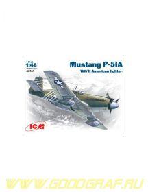 P-51 A ВВС США, самолет