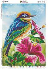 В-488 Фея Вышивки. Яркая Птица. А3 (набор 1175 рублей)
