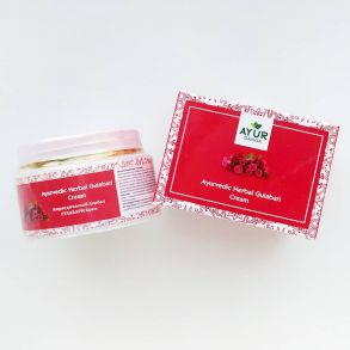 Аюрведический травяной крем Гулабари/Роза | Ayurvedic Herbal Gulabari/Rose Cream | 30 г | AyurGanga