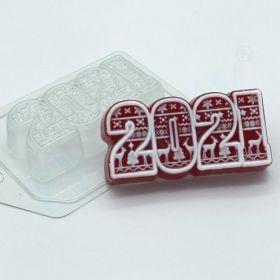 Форма для мыла и шоколада 2021 / Скандинавский орнамент