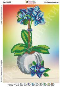 Фея Вышивки В-486 Любимый Цветок схема для вышивки бисером купить оптом в магазине Золотая Игла