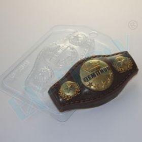 Форма для мыла и шоколада Пояс чемпиона
