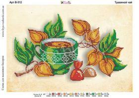Фея Вышивки В-512 Травяной Чай схема для вышивки бисером купить оптом в магазине Золотая Игла