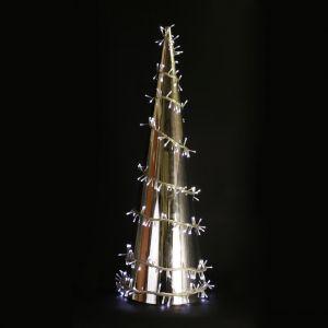 Конус серебряный (240 светодиодов, 100см)