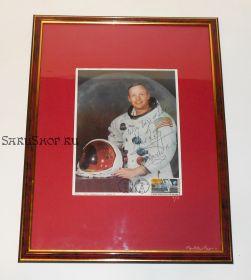 Автограф: Нил Армстронг. «Аполлон-11». Фото 1969 года. Редкость