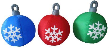 "Надувная фигура ""3 шарика"", диаметр каждого шарика 0,5м"