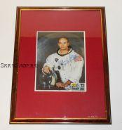Автограф: Майкл Коллинз. «Аполлон-11». Фото 1969 года. Редкость