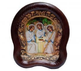 """Икона """"Святая Троица"""" в окладе"""