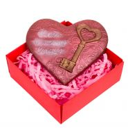 "Шоколад ""Ключ к моему сердцу"", в коробочке"