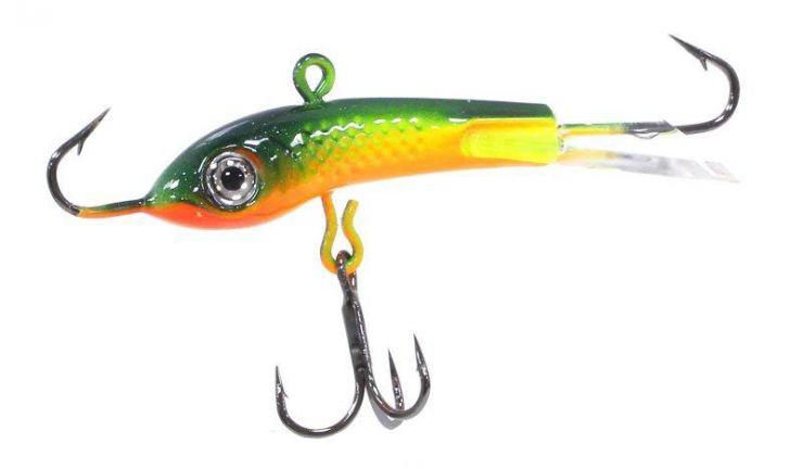 Балансир JIG MASTER Пират 6см 10гр цвет Тропическая жаба