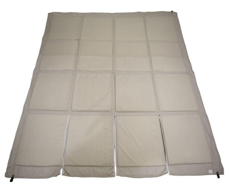 Пол для зимней палатки КУБ 2 LONG 1,95х2,25м серый Оксфорд 300 СТЭК