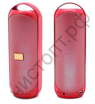 Колонка универс.с радио OT-SPB22 красная (E9) (TF, USB, FM) 10вт