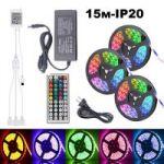 Огонек OG-LDL16 набор LED лента RGB (3*5м,IP20,блок,пульт)