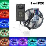 Огонек OG-LDL11 набор LED лента RGB (1м,IP20,блок,пульт)