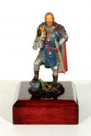 Рыцарь 13-14 век. Оловянная. Роспись. Авторская работа