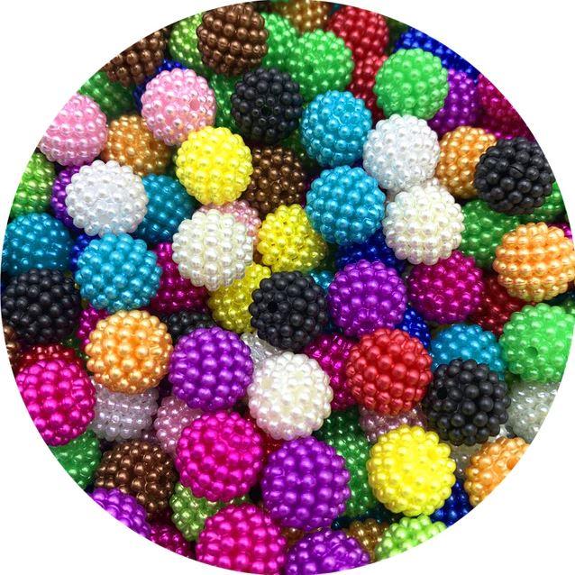Бусины для изготовления ювелирных изделий (цвет микс)
