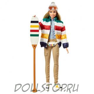 Коллекционная кукла Барби HBC Страйпс - HBC Stripes Barbie Doll 2020 # GHT68