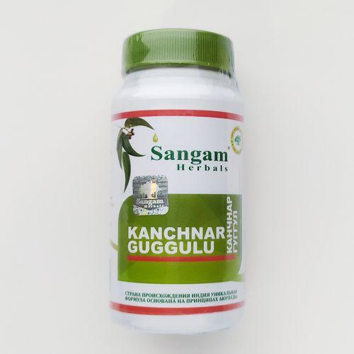 Канчнар (канчанар) Гуггул | Kanchnar Guggulu | 60 таб. | Sangam Herbals