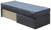 """Угловой элемент дивана """"Гольф"""" ДУ06 (микровелюр М18-2) для подъемной кровати КД09, КД14, КД16"""