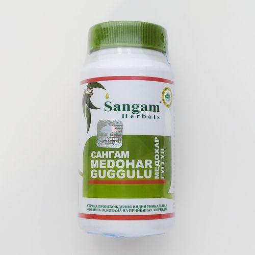 Медохар Гуггул | Medohar Guggulu | 60 таб. | Sangam Herbals