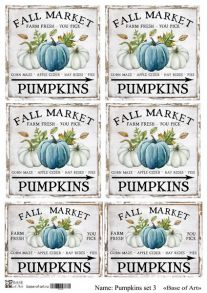Pumpkins set 3