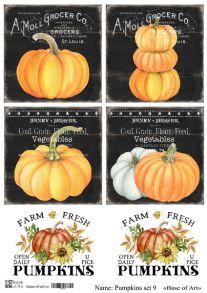 Pumpkins set 9