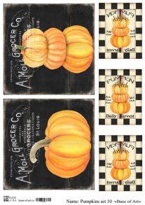 Pumpkins set 10