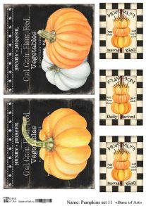 Pumpkins set 11