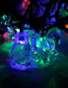 Гирлянда электрическая Космос KOC_GIR30LEDMIX3_RGB Новогодний микс (елочные игрушки) Разноцветный