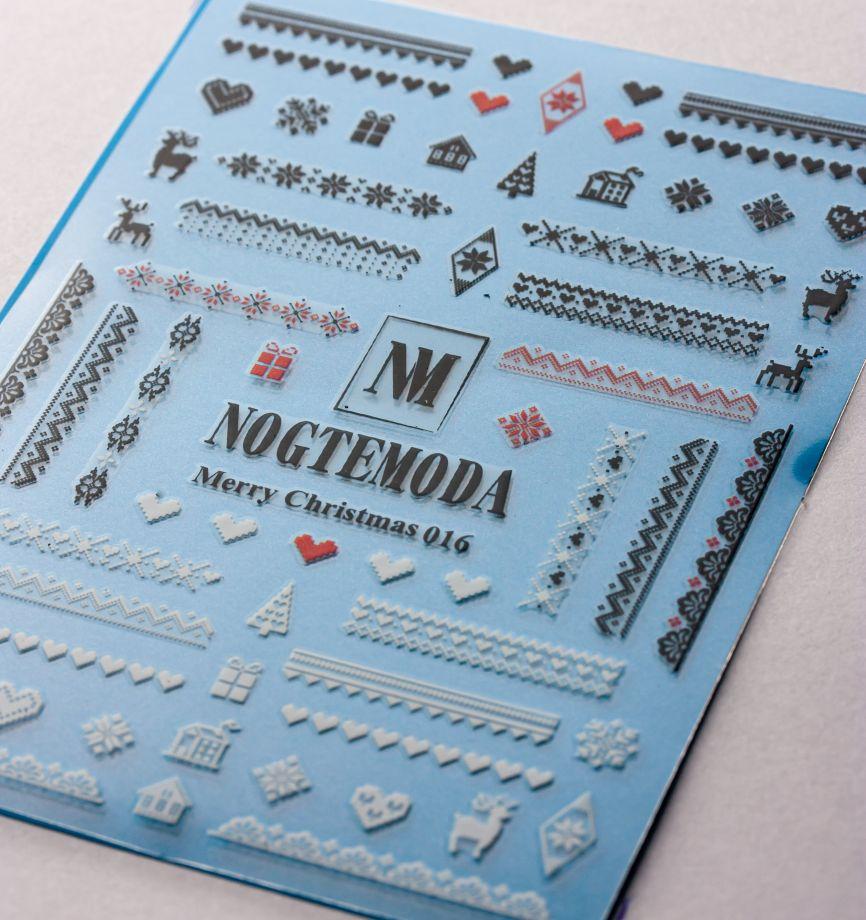 Стикер Nogtemoda Merry Christmas 016