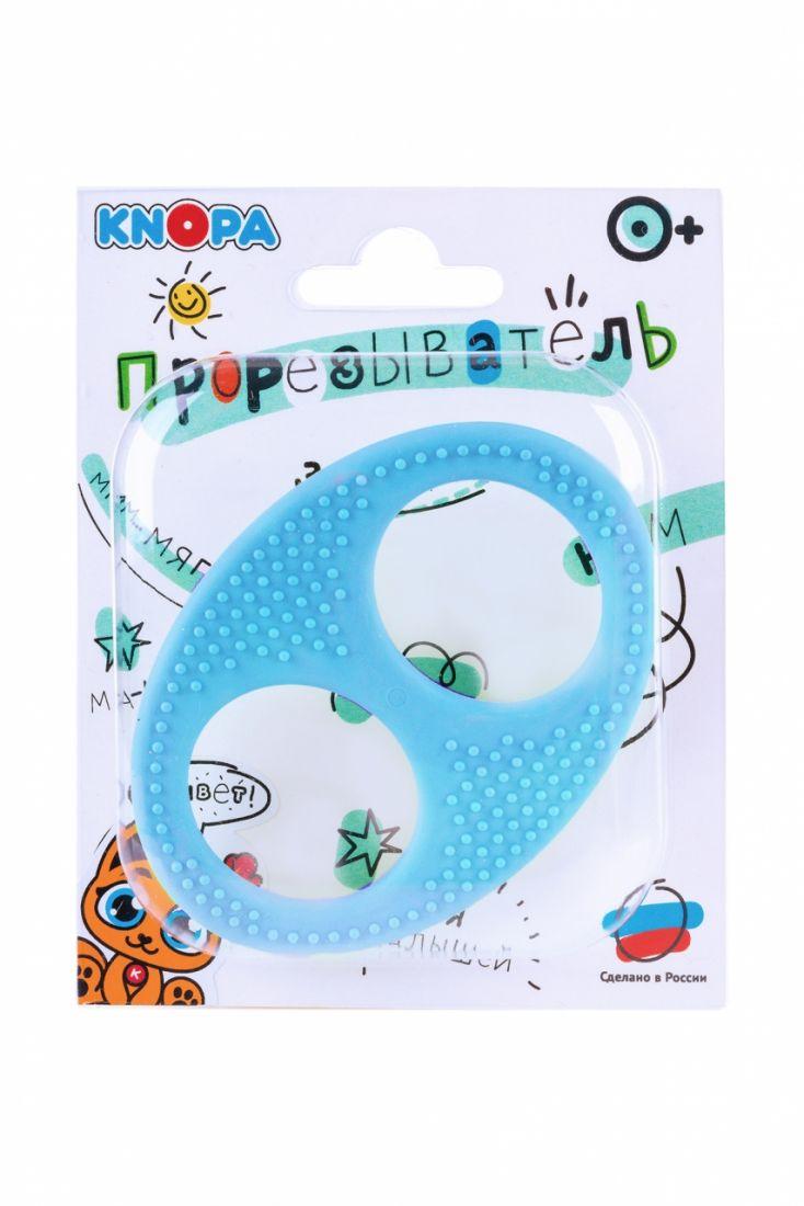 Прорезыватель KNOPA 80082 Бесконечность, голубая