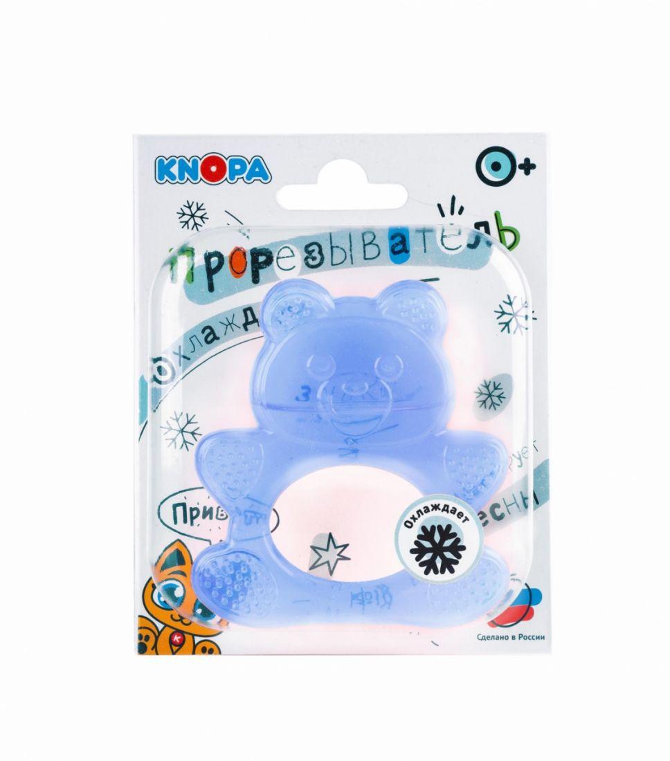 Прорезыватель KNOPA 80029 Мишка, синий