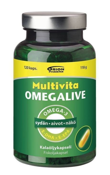 MULTIVITA Omegalive 120 капсул