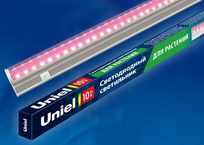 Светильник для растений светодиодный линейный ULI-P20-10W/SPSB IP40 WHITE, 560мм