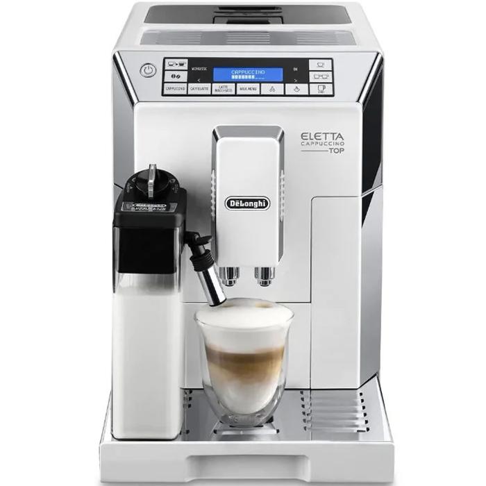 Кофемашина DeLonghi Eletta Cappuccino Top ECAM 45.760.W