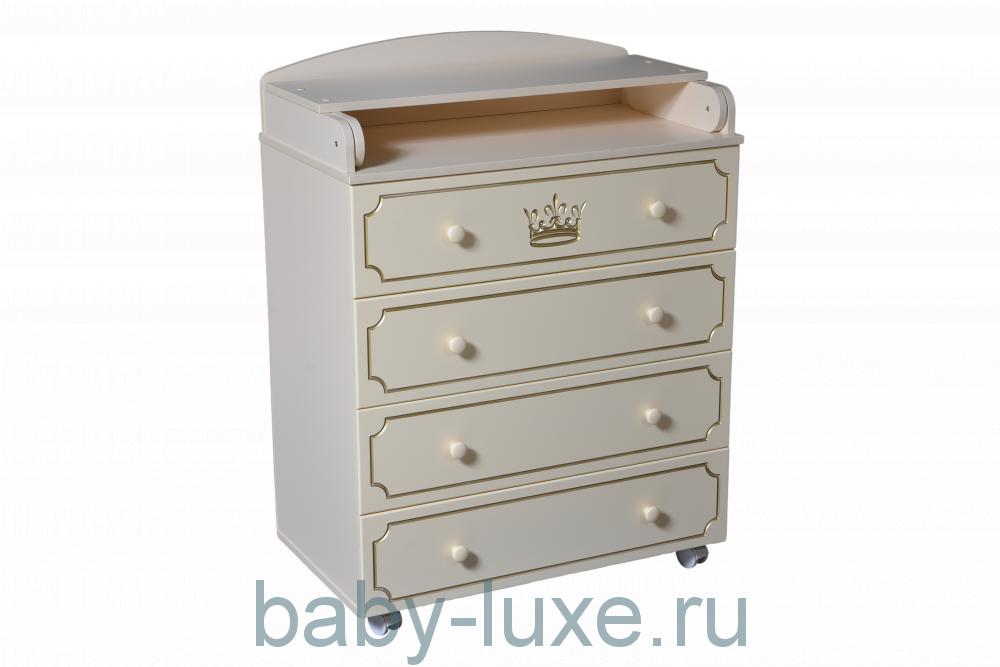 Комод пеленальный Nikol 800/4 МДФ