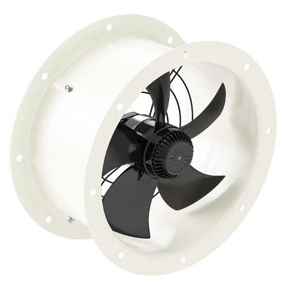 Осевой вентилятор YWF-2Е-200 (с фланцами)