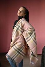 """Теплая шаль  100 % стопроцентная шотландская овечья шерсть, тартан Иона """"Цветочный бутон""""  IONA BLOSSOM LAMBSWOOL STOLE"""