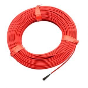Нагревательный кабель 133 Ом 10 метров 2 мм тефлон