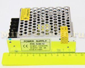 Блок питания 220V AC / 12V DC (5А) small