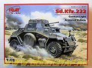 Sd.Kfs.222, германский легкий бронеавтомобиль