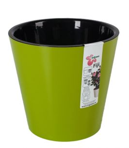 """Горшок для цветов """"Фиджи"""" d 200 мм/4 л салатовый """"Пластик репаблик"""" ING1554СЛ"""