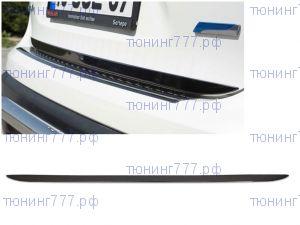 Накладка (кант) на крышку багажника, Omsaline, черная