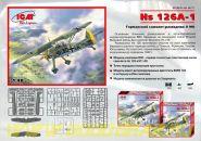 Hs 126А, германский самолет разведчик