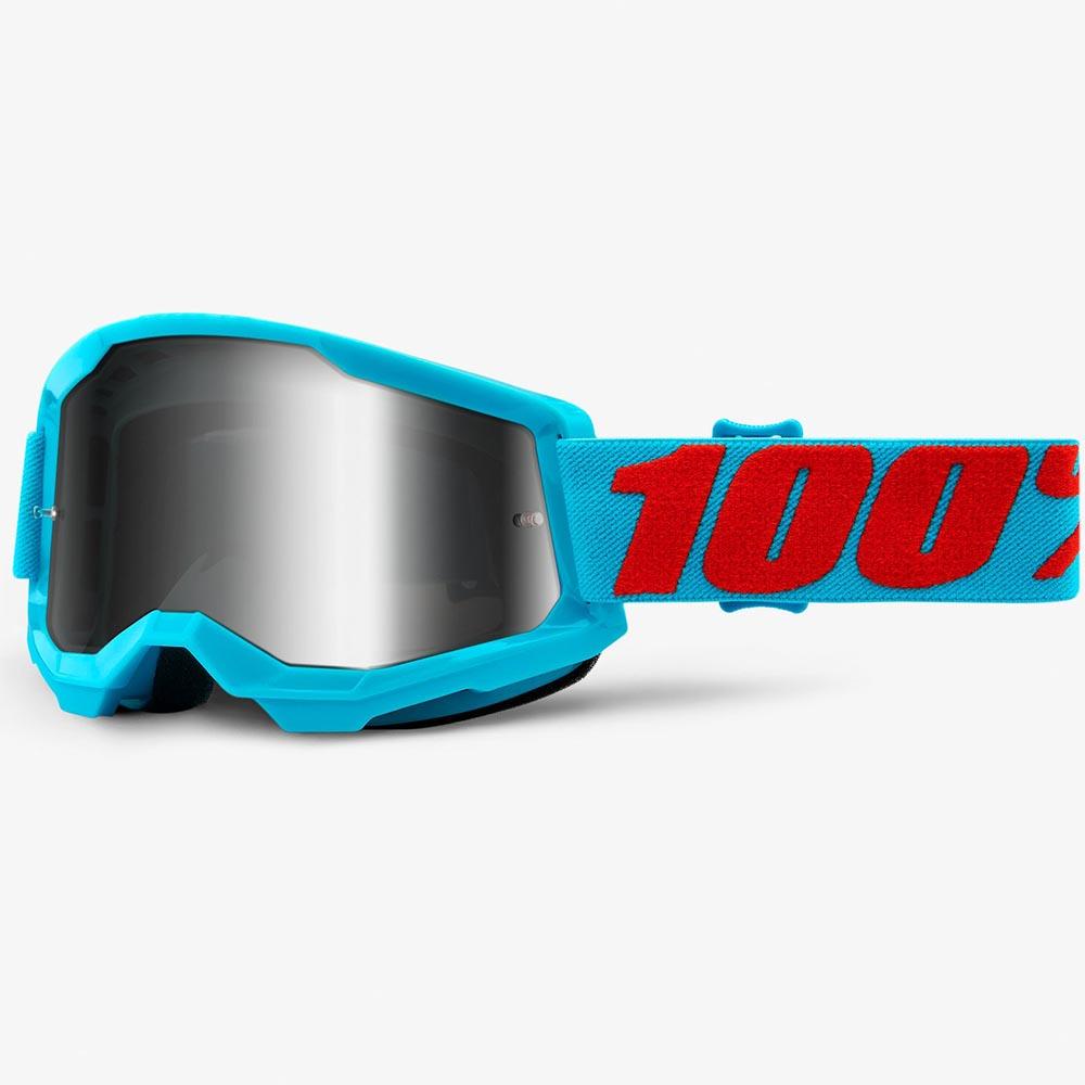 100% Strata 2 Summit Mirror Silver Lens, очки