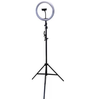 Кольцевая лампа мультиколор RGB MJ33 со штативом 2 метра