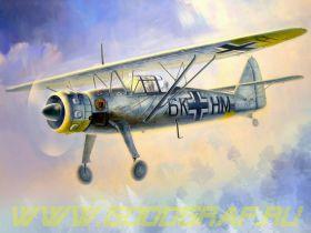 Hs 126В, германский самолет разведчик